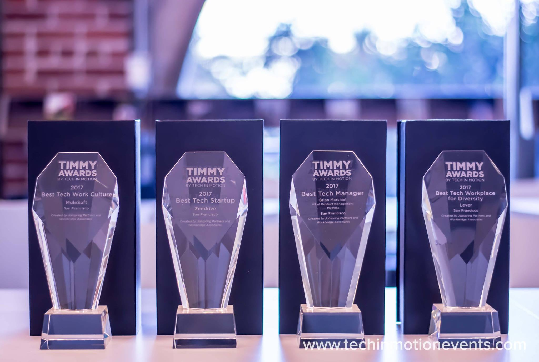 Timmy Awards Categories and Trophies