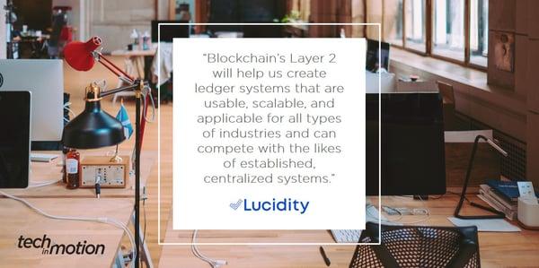 Lucidity, Lucidity Tech, blockchain, finance, technology, analytics